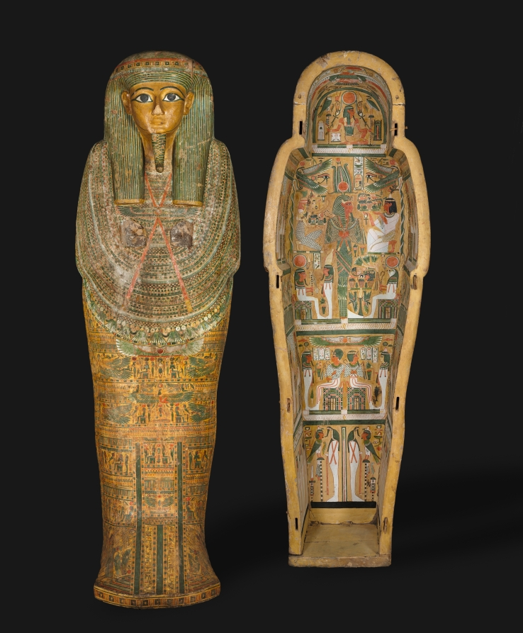 Coffin Of Bakenmut Cleveland Museum Of Art
