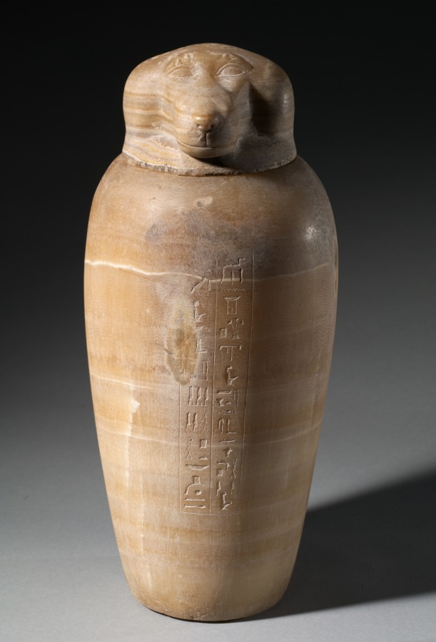 Canopic Jar With Baboons Head Cleveland Museum Of Art